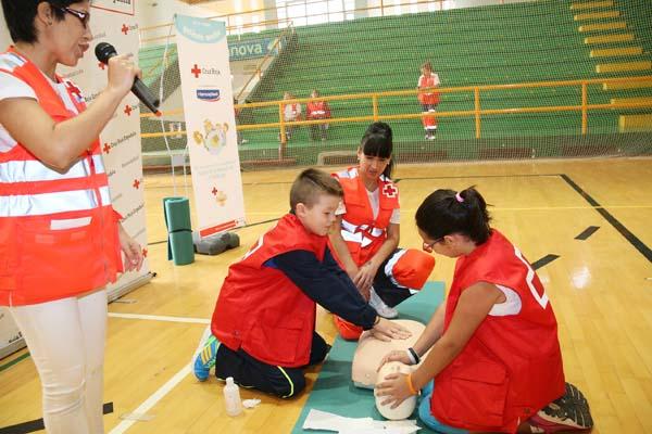Photo of Clase de primeiros auxilios en Verín