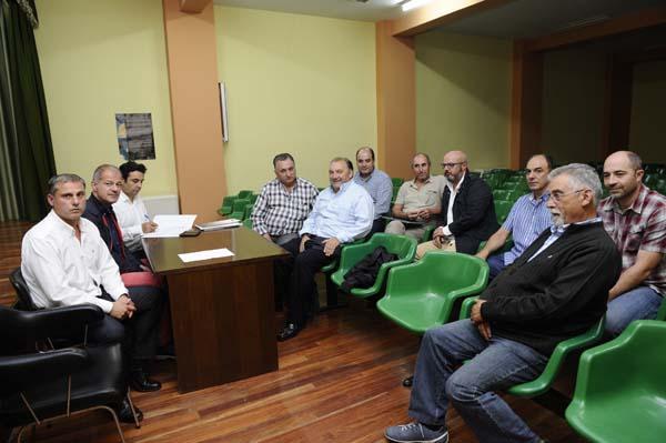 Un dos momentos da asemblea de Proagrosilga./ Foto: Carlos G. Hervella.