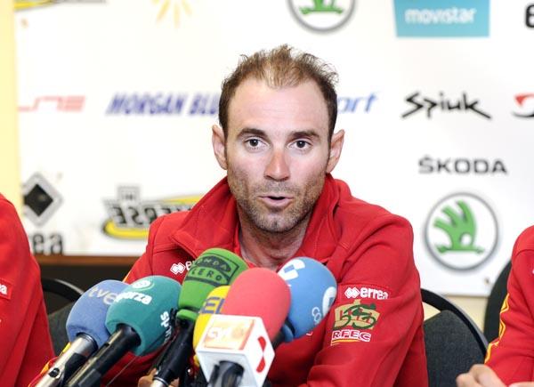 Photo of Os líderes da selección española de ciclismo, no Barco