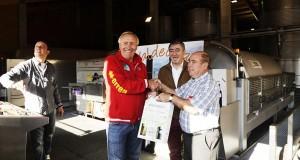 O seleccionador nacional de ciclismo coñece o viño do Barco
