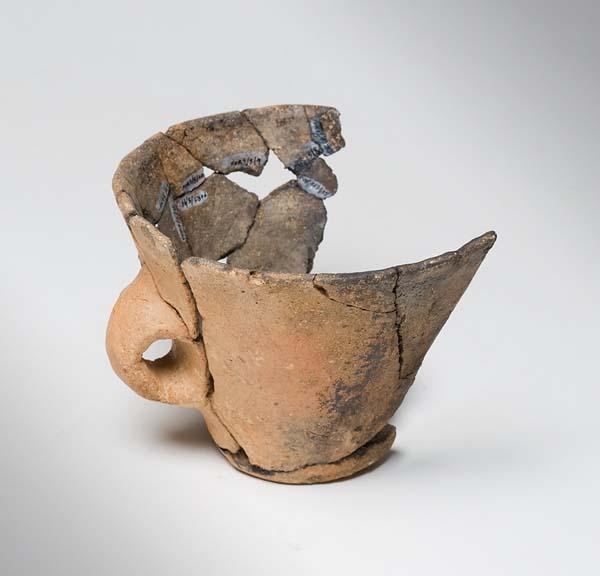 Vasilla da Idade do Bronce da Cista da Forxa (Vilariño das Touzas, Riós)./ Foto: Museo Arqueolóxico de Ourense. Autor: Fernando del Río.