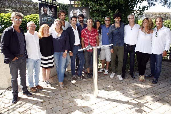 """Photo of Comeza a rodaxe da miniserie """"O Códice"""""""