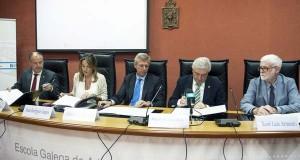 As universidades galegas asinan un convenio coa EGAP