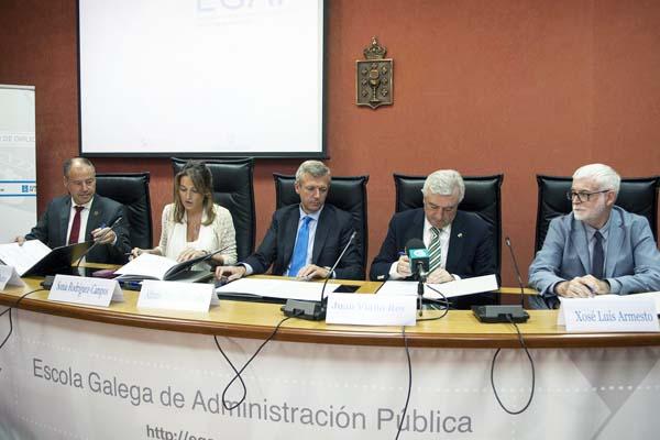 Photo of As universidades galegas asinan un convenio coa EGAP