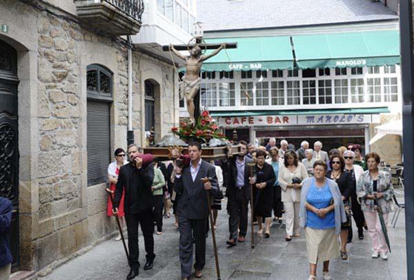 Photo of Devoción polo Cristo en Trives