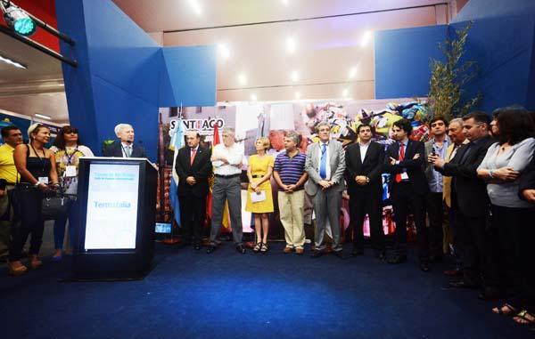 Clausura da 14ª edición de Termatalia en Arxentina.