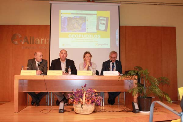 Inauguración do congreso celebrado en Allariz.