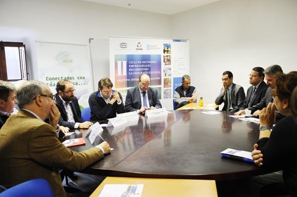 Photo of Empresarios valdeorreses reúnense  co Igape