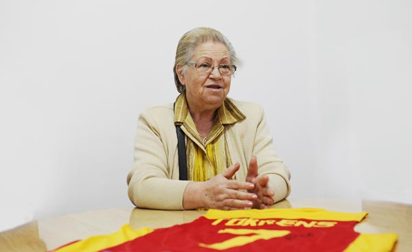 A nai de Lucas, Charo García León. /Foto: Carlos G. Hervella.
