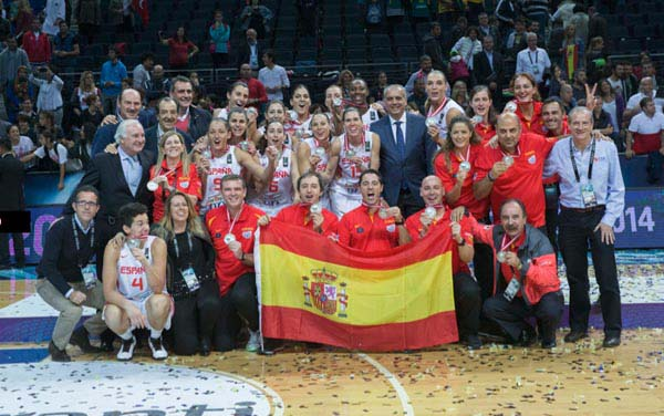 Photo of Plata dorada para las chicas del basket