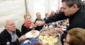 A Festa da Carne de Montederramo reúne a máis de mil persoas