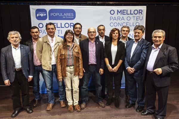 Photo of O PP presenta aos seus candidatos á alcaldía na zona da Limia