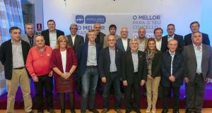O PP presenta aos 17 cabezas de lista ás locais da xunta electoral da zona de Ourense