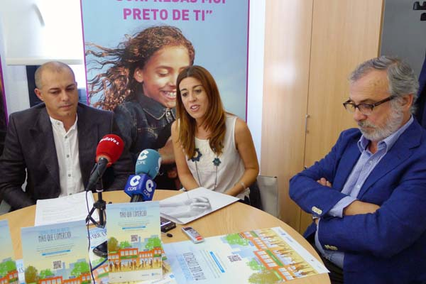 Rolda de prensa de presentación da campaña./ Foto: Ángeles Rodríguez.