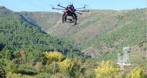 Voos de drons sobre os viñedos da Ribeira Sacra e Valdeorras
