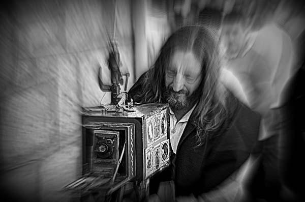 """""""O home das fotos"""", de Manuel Blanco Guerra, unha das imaxes premiadas."""
