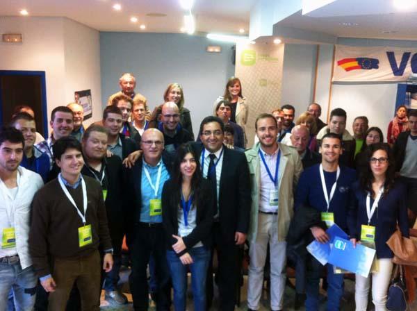 Clausura do congreso de Novas Xeracións do PP de Xinzo de Limia.