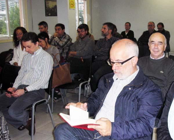 Reunión extraordinaria do comité provincial do PSdeG-PSOE en Ourense.