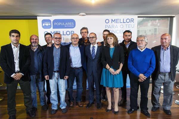 Photo of O PP presenta aos seus cabezas de lista na zona de Ribadavia