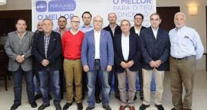 Jesús Prieto e Salvador Fernández, cabezas de lista do PP en Trives e Manzaneda