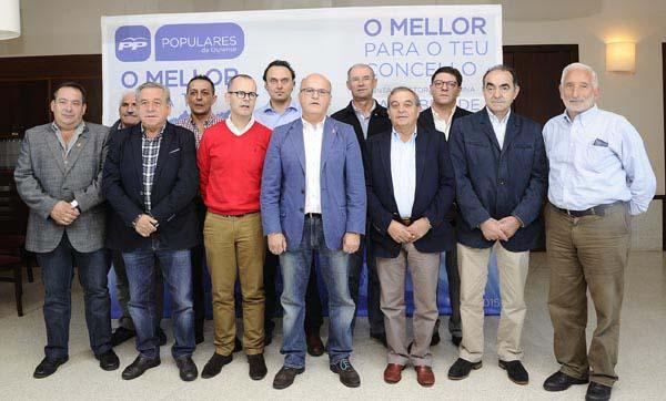 Photo of Jesús Prieto e Salvador Fernández, cabezas de lista do PP en Trives e Manzaneda