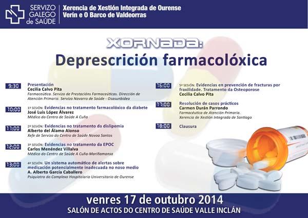 """Photo of """"Xornada sobre Deprescrición Farmacolóxica"""", no Centro de Saúde Valle Inclán"""