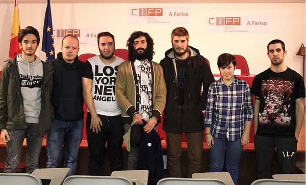 Photo of II Xornadas Cultura en Produción no CIFP A Farixa de Ourense