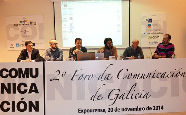Algúns dos ponentes que asitiron ao encontro.