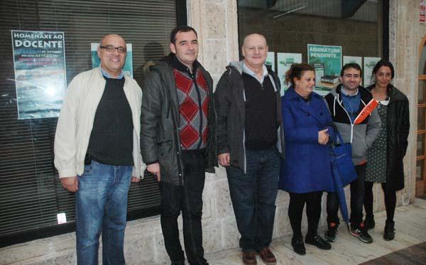 Photo of O sindicato de profesores ANPE inaugura a sede do Barco