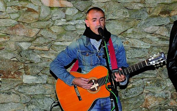 Photo of Emilio Rúa, no I Ciclo da Canción Popular de Seixalbo