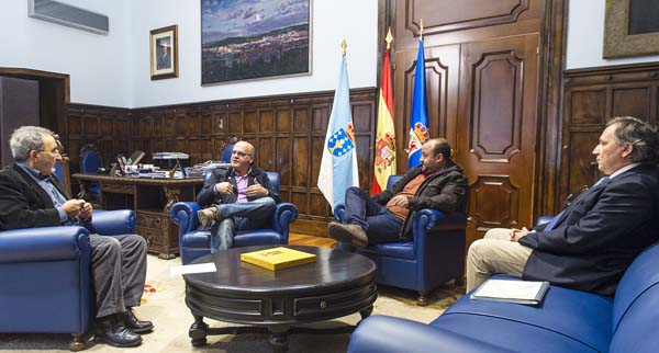 Javier Casares, Manuel Baltar, Hakan Casares e Gustavo Garrido.
