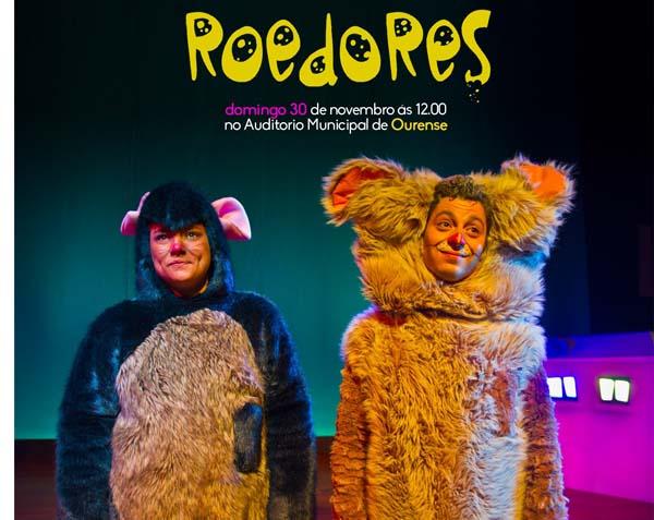 """Photo of O espectáculo familiar """"Roedores"""" no Auditorio de Ourense"""