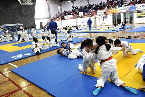 Photo of O Barco acolle a festa do judo infantil