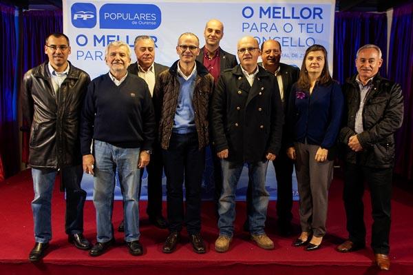 Photo of O PP presenta os cabezas de lista ás locais na zona electoral de Bande