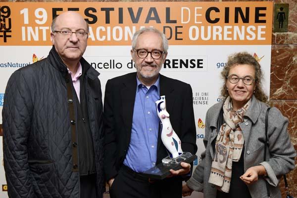 Photo of Emilio Martínez-Lázaro, o Premio Cidade de Ourense no 19 OUFF