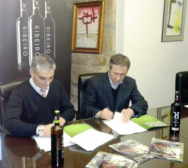Photo of Alianza entre o Ribeiro e Instituto Galego do Viño