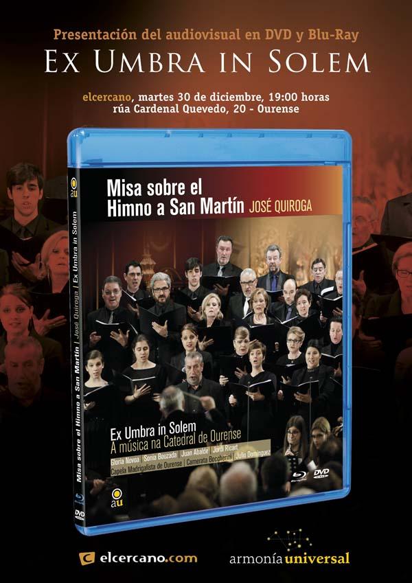 """Photo of Presentación do traballo audiovisual de """"Ex Umbra in Solem"""""""