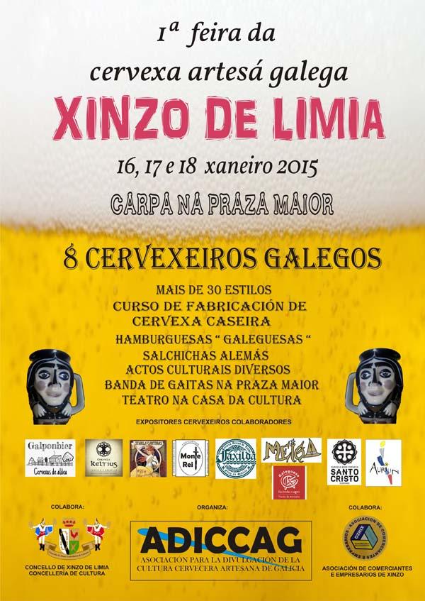 Photo of Xinzo acolle a súa I feira da cervexa artesá galega