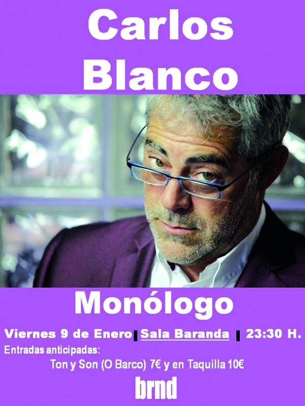 Photo of Monólogo de Carlos Blanco, no Baranda