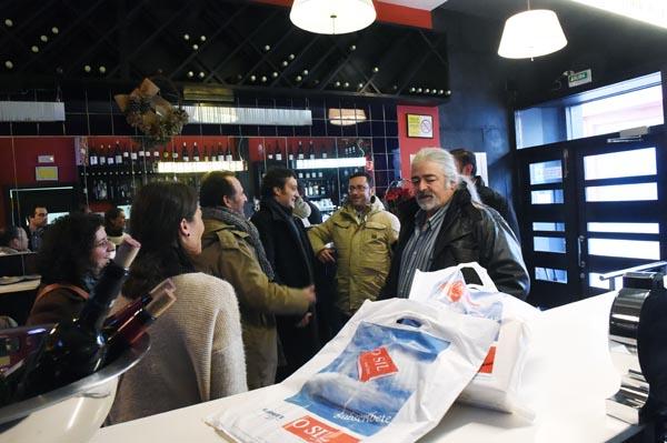 A cata foi promovida por Luis Paadín e polo Periódico O Sil./ Foto: Carlos G. Hervella.