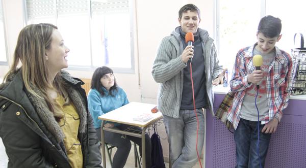 Photo of Obradoiros de radio e fotografía no IES Carlos Casares