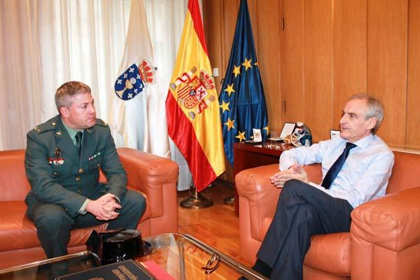 Photo of O subdelegado reúnese co novo xefe do Subsector de Tráfico