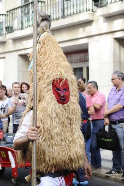 Imaxe da máscara asturiana do Sidro./ Foto: Carlos G. Hervella.