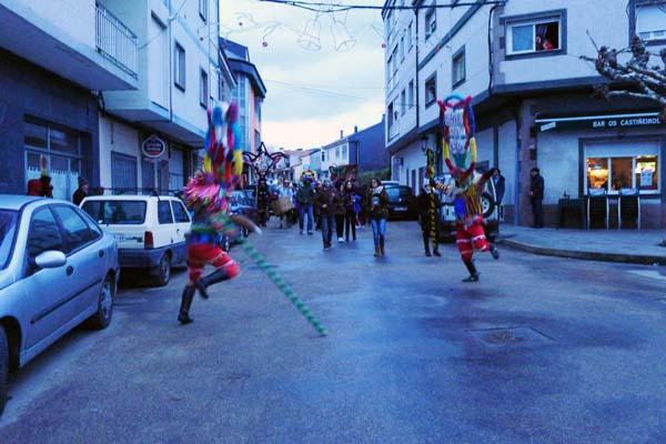 Photo of As máscaras toman Viana do Bolo