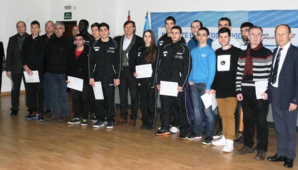 Photo of 24 ourensáns campións de España en 8 disciplinas