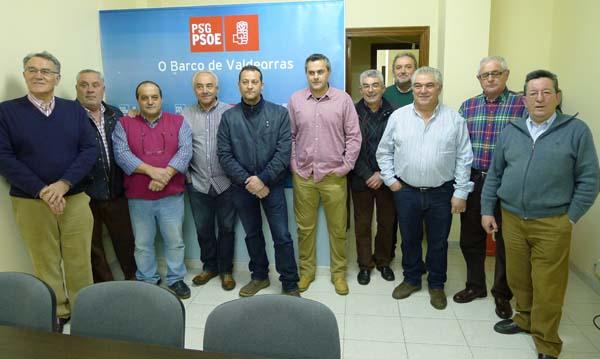 Photo of O PSdeG-PSOE Valdeorras presenta aos candidatos nas municipais
