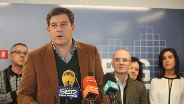 José Ramón Gómez Besteiro, na súa intervención en Ourense.