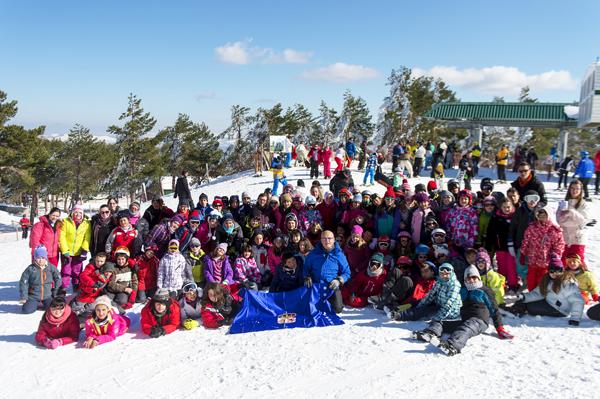 Photo of Esquiou 2015, na estación de montaña de Manzaneda