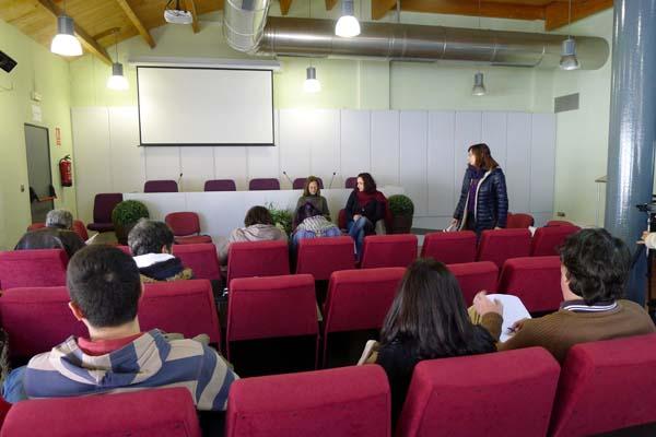 Acto de presentación da candidatura de Podemos Cambiar Galicia no Barcoo./ Foto: Ángeles Rodríguez.