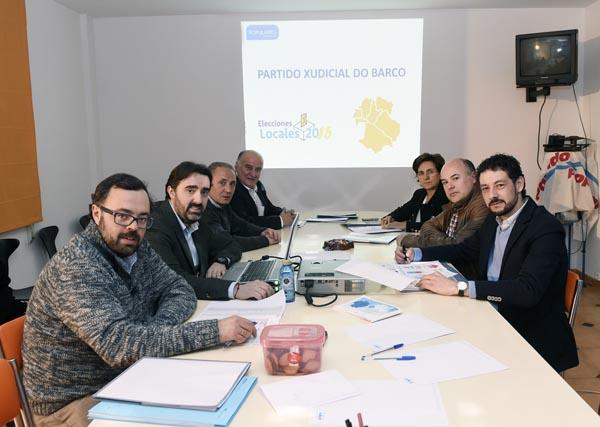 Photo of Reunión do comité provincial de campaña do PP en Valdeorras